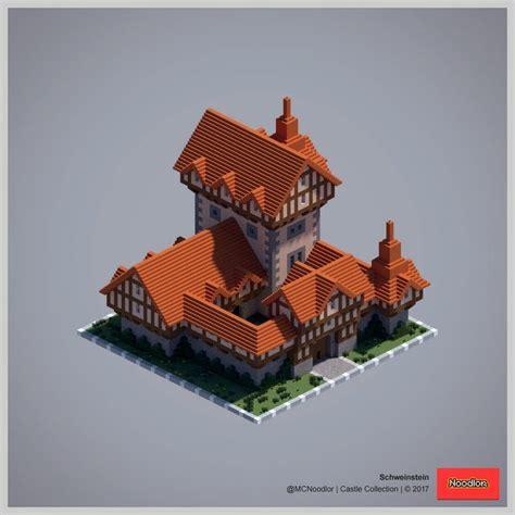 schweinstein noodlor  castle collection minecraft castle minecraft blueprints
