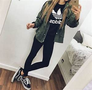 Grey Old Skool Vans Outfit