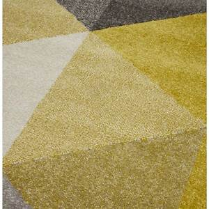 tapis jaune gris 7 idees de decoration interieure With tapis jaune gris