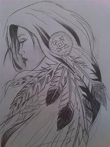 native american girl by krisiD on DeviantArt