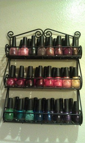 Spice Rack For Nail by Nail Racks Spice Racks And Nail Polishes On