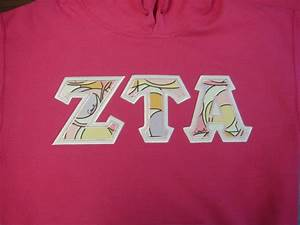 17 best images about letter designs d on pinterest zeta With zeta tau alpha letter shirts