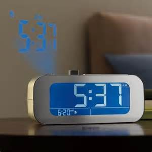 Ceiling Alarm Clock Projection by Time Projecting Alarm Clocks Self Setting Projection Clock