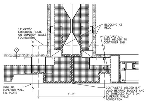 interior of shipping container homes shipping container plan and section details residential