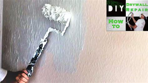 skim coat  paint roller trick  rid
