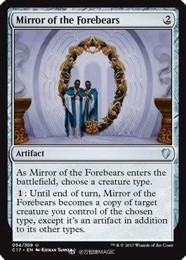 mirror   forebears  commander  spoiler