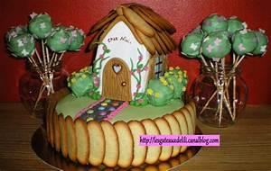 Gateau En Forme De Maison : la petite maison avec explications les g teaux de lili et autres gourmandises ~ Nature-et-papiers.com Idées de Décoration