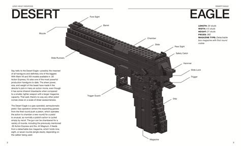 LEGO Heavy Weapons: Build Working Replicas of Four of the