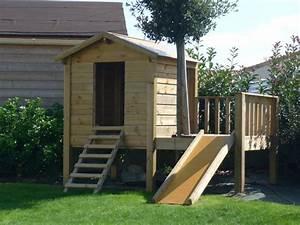 Comment Construire Une Cabane à écureuil : cabane bois enfant cabanes abri jardin ~ Melissatoandfro.com Idées de Décoration