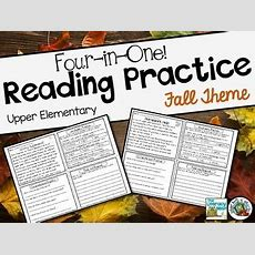 Upper Elementary Reading Comprehension By Emily Gibbons The Literacy Nest