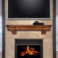 fireplace mantel shelves Glendale - Wood Mantel Shelves - Fireplace Mantel Shelf - Floating Mantel Shelf - MantelsDirect.com
