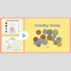 Maths Intervention Counting Money Powerpoint And Worksheet