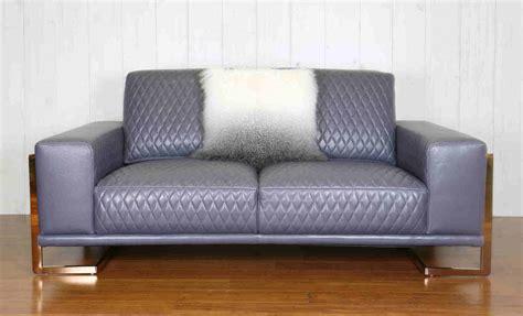 rose gold quilted leather sofa living room furniture brisbane