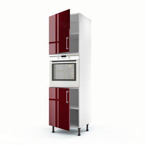 element de cuisine leroy merlin meuble de cuisine colonne 2 portes griotte h 200 x l