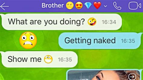 funniest brother sister texts messages   jokes