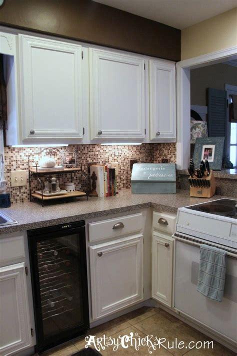 Kitchen Cabinet Makeover (annie Sloan Chalk Paint  Chalk