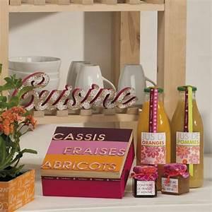objet deco cuisine idee de bricolage idees et conseils With objets décoratifs pour cuisine