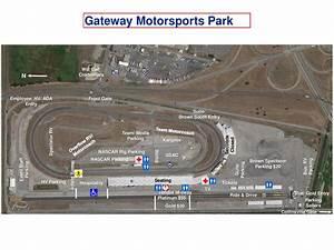 NCWTS Full Weekend Schedule Track Map Gateway Motorsports Park