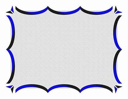 Border Borders Certificate Template Designs Clip Word