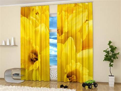 window curtains  colorful art prints  beautiful flowers  nature themed decor