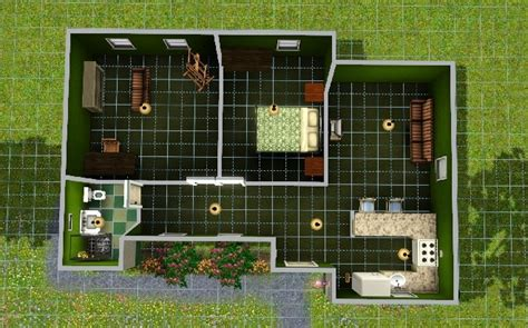 simple starter home   sim sims house plans sims
