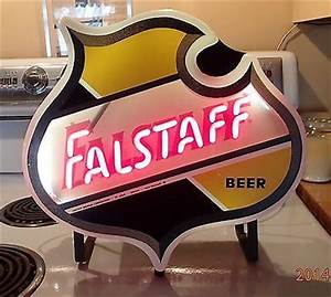 Falstaff Beer Neon Sign St Louis Light Sign Antique