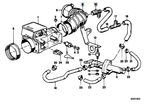 Bmw E30 Part Diagram by Original Parts For E30 323i M20 2 Doors Fuel Preparation