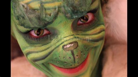 tha grinch makeup tutorial pinkstylists seussical