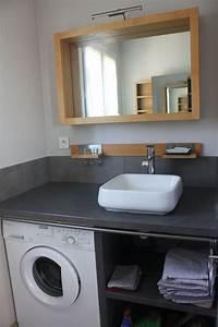Resultat de recherche d39images pour quotmachine a laver sous for Salle de bain design avec résine décorative pour sol