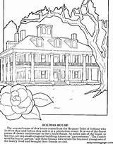 Coloring Sheets Kleurplaat Huis Louisiana Adults Kleurplaten Dailycoloringpages Adult Printable Difficult sketch template