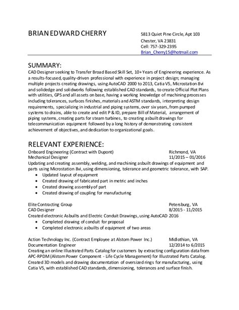 Cad Designer Resume by Cad Designer Resume