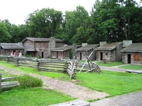 siege gap fort boonesborough where daniel boone built a fort for