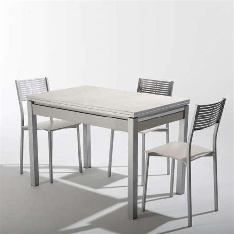 table cuisine ceramique beautiful table de jardin aluminium iris gallery awesome
