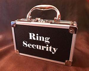 jenuine creations us on etsy handmade hunt With ring security box for wedding