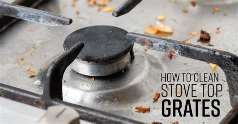 clean stove top grates simple green