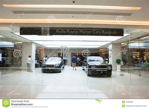 Rolls-royce Motor Cars Store In Bangkok Editorial Stock