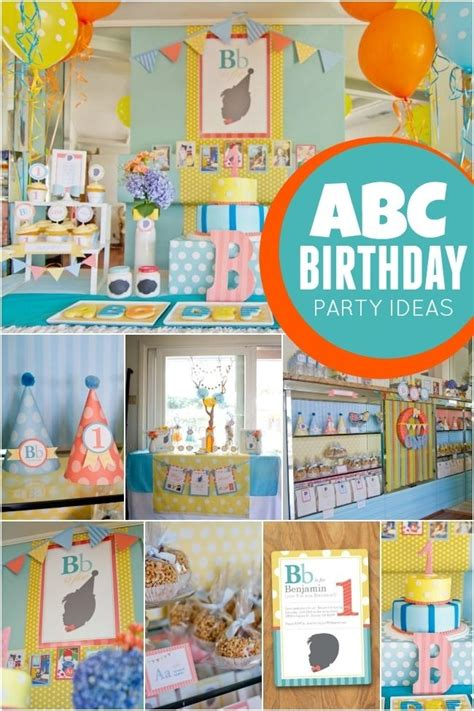 abc themed 1st birthday party spaceships and laser beams abc themed birthday party spaceships and laser