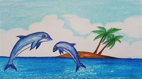 draw scenery  dolphinstep  stepeasy draw