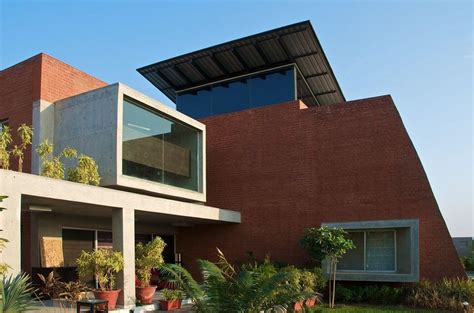 Timeless Quality House In India by Nse2zoom The Brick House In Gujarat India By Hiren Patel