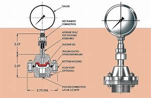 Pressure Sensors - Diaphragm Seal Model K