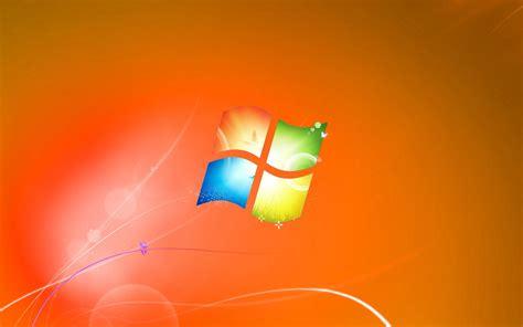 Hd Orange Theme Wallpaper by Windows 7 Default Wallpaper Orange Version By Dominichulme