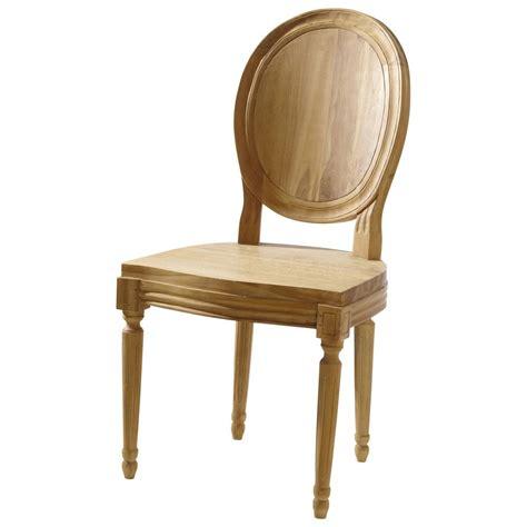 chaise teck chaise de jardin teck louis maisons du monde