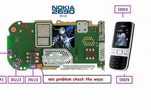 Nokia 2690 Solution  Nokia 2690 Mic Ways Jumpars