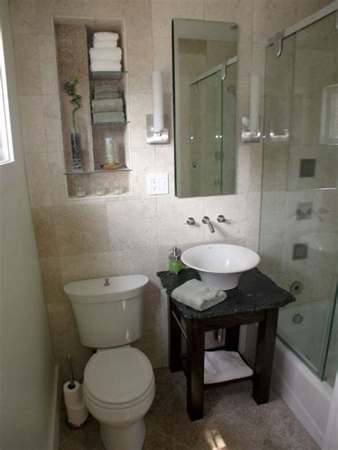 tiny master bathroom remodel    small