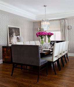 dining chair trends for 2016 from vintage elegance to With dining room bench seating ideas