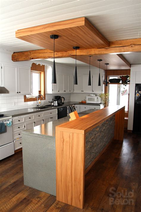 cuisine comptoir bois comptoir de cuisine comptoir inox cuisine dessus de