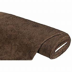 Tissu Imitation Fourrure : tissu imitation fourrure en coton marron acheter en ligne sur buttinette loisirs cr atifs ~ Teatrodelosmanantiales.com Idées de Décoration