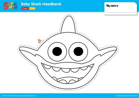 baby shark headband   blossom baby shark shark