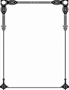 Art Deco Borders Clipart - Clipart Suggest