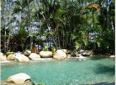 Tropical garden pool gorgeous! Picture of Melaleuca